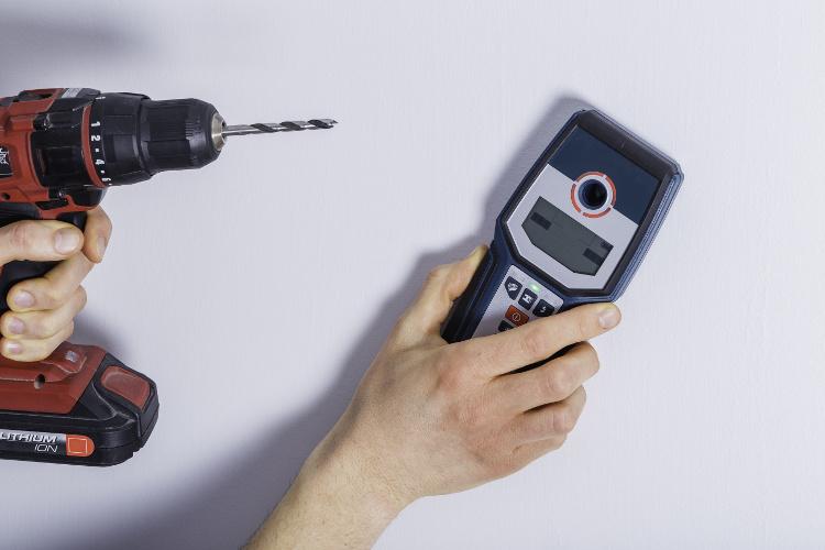 Beitragsbild Multidetektor Vergleich - Leitungen in der Wand finden leicht gemacht