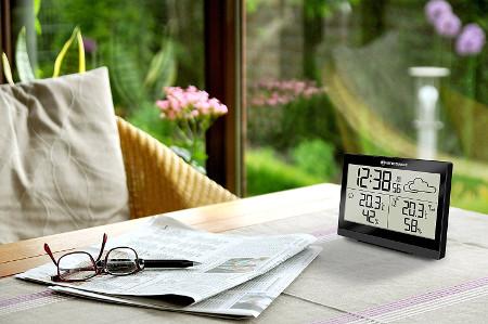 funk wetterstation kaufen selbst das wetter vorhersagen. Black Bedroom Furniture Sets. Home Design Ideas