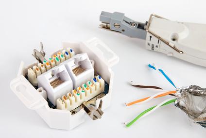 LSA Auflegewerkzeug kaufen um Netzwerkdose anschließen zu können