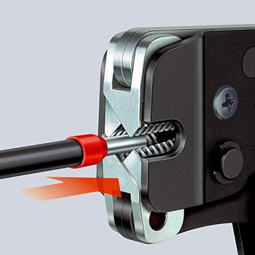 Knipex 97 53 09 Crimpzange - Die richtige Quetschzange für Aderendhülsen