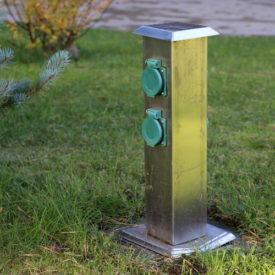Energiesäule – Jederzeit und überall Strom im Garten